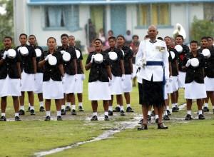 Fiji Police Force Passout Parade. Photo: Rama