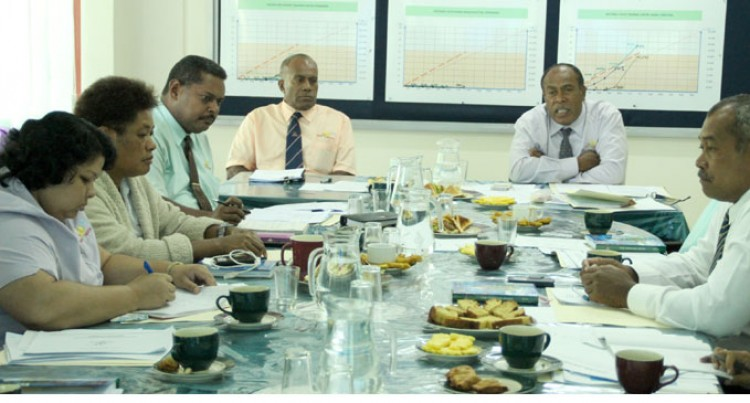Tuitubou Meets With Senior Management