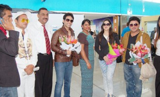 Bollywood Actors Jet In