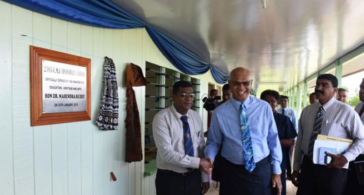 Principal, Parents, Students Happy With New School