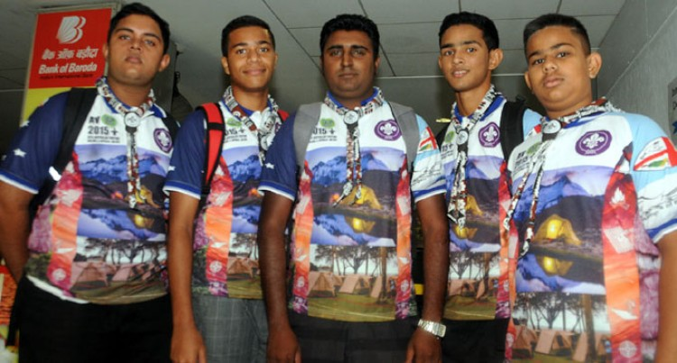 Lautoka Scouts For Australia Camp