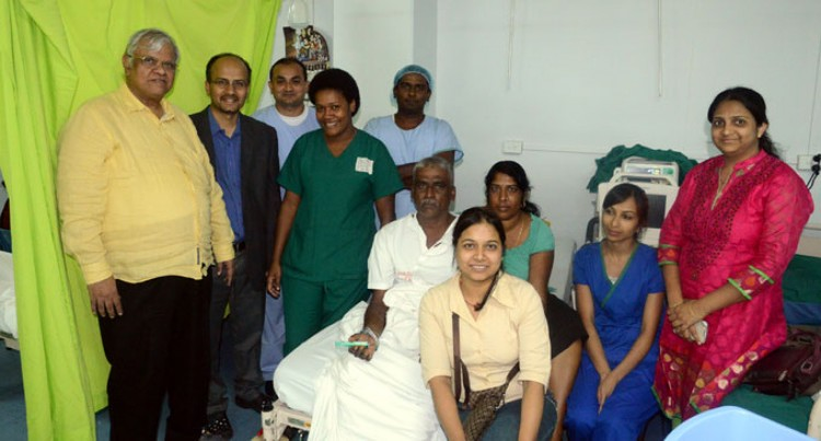 India Cardiac Team Does 27 Angiograms
