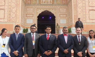 A-G Speaks At India Summit
