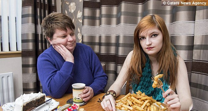 Teenager, 17, Lives Off A Diet Of Chips