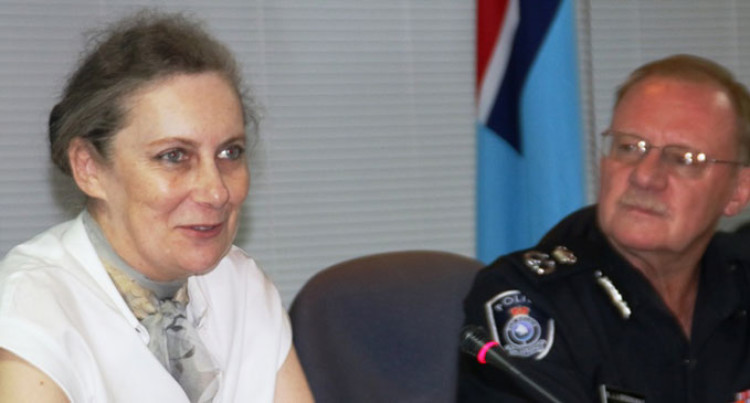 Twomey Hails Police Work
