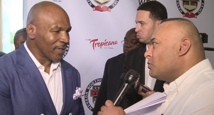 Mike Tyson Rediscovers Himself
