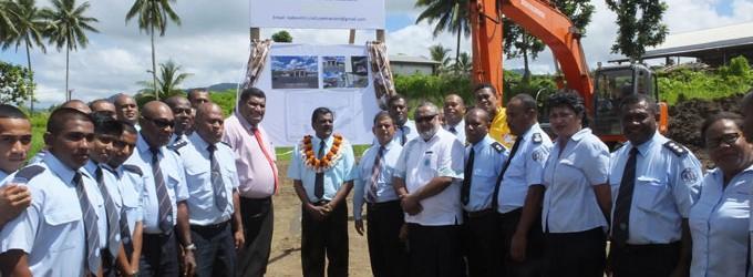 New Fire Station For Savusavu