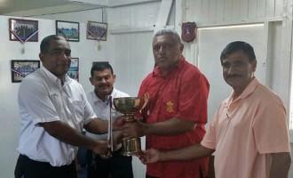 Komo Receives Perpetual Cup