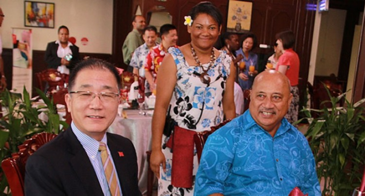 Ratu Inoke Farewells China Envoy