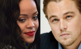 Leonardo, Rihanna Get Cosy At A Party