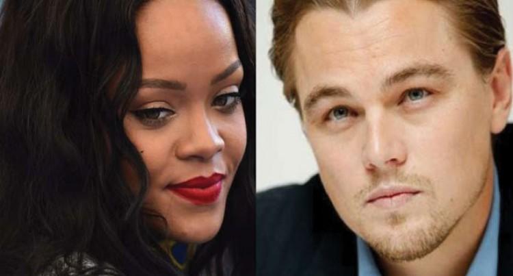 Leonardo, Rihanna Get Cosy At A Party