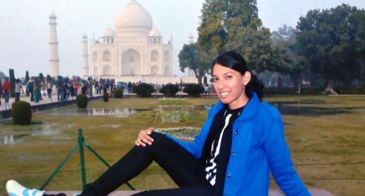 Our Shratika Exploring India