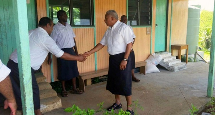 Prime Minister Inspects Verata School Facilities
