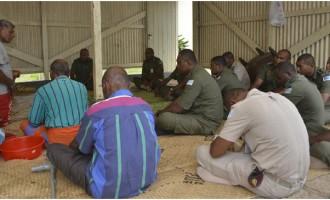Fiji Corrections Pay Tribute To Manasa Vaniqi