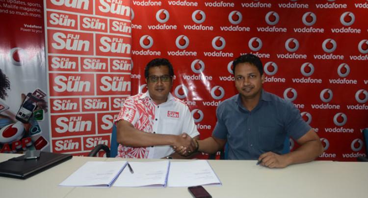 Fiji Sun Goes Live On  V-App Store