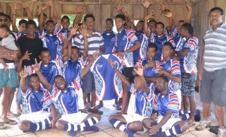 Missionary's Gift Of Jerseys For Youths