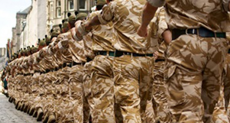 British Army recruiting: No Vacancies