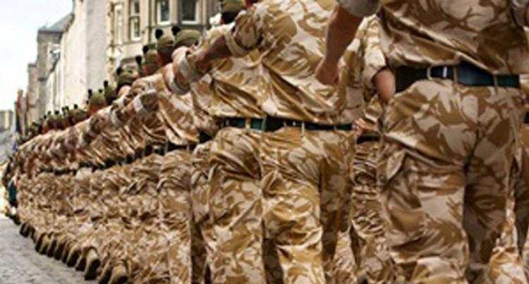 British Army recruiting: No Vacancies