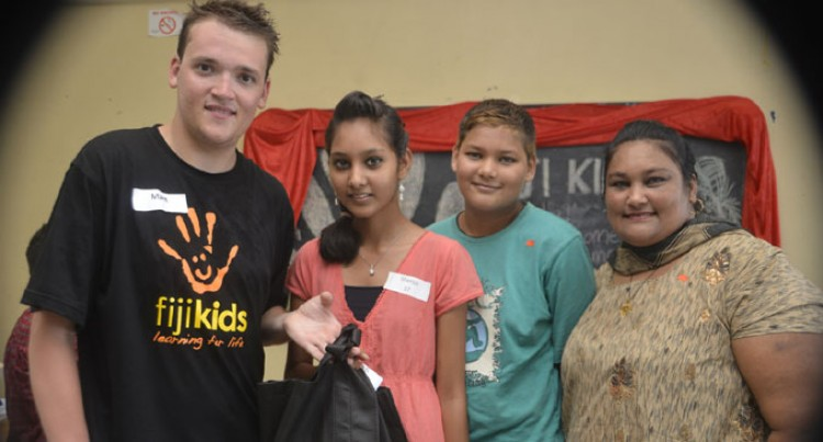 Fiji Kids Help Needy Kids