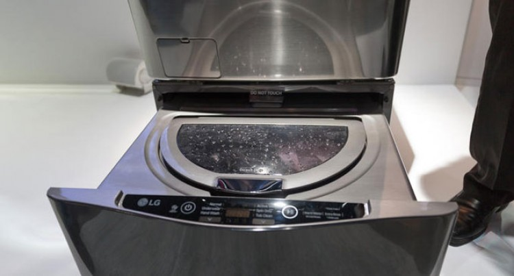 LG Brings A Multi-tasking Washing Machine