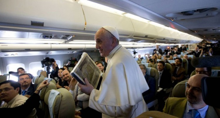 Media Freedom With Limits: Pope