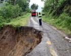 Villages Cut  Off By Landslide