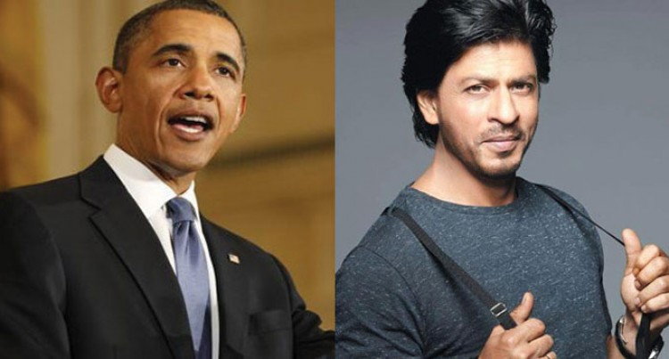 SRK to Obama, Next time 'Chaiyya Chaiyya'
