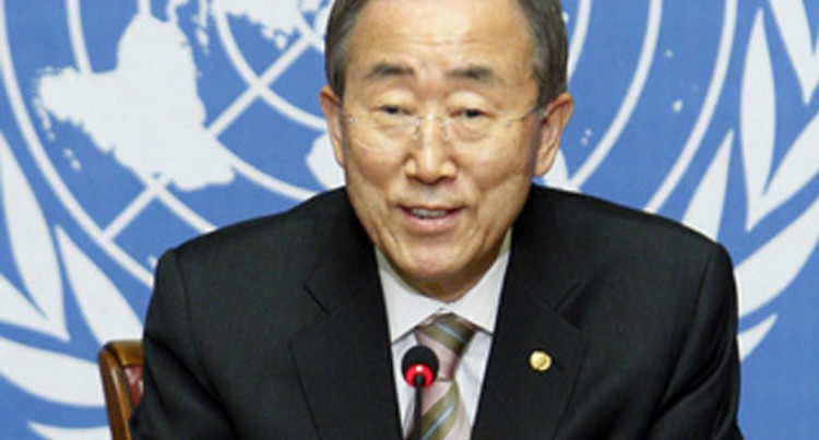 UN Secretary General Ban Ki-moon To Participate In Vibrant Gujarat Summit