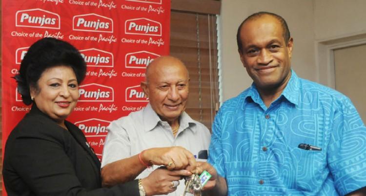Punjas Bring Smiles To Health Pair