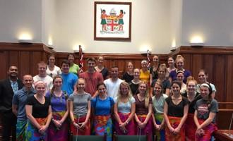 US Students Visit Parliament