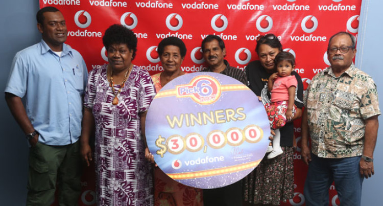 Six Winners In Vodafone Draw