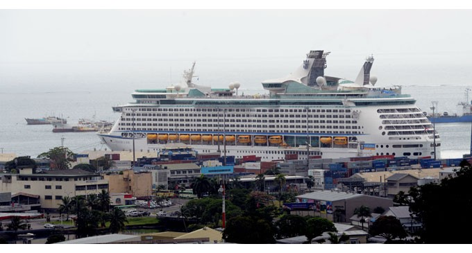 First Cruise Liner For 2015 And It's Big
