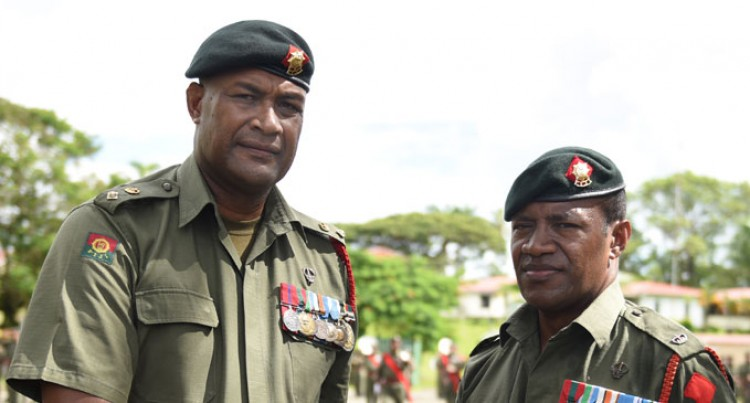 Lieutenant-Colonel Gadai Off To 'Big Apple' In New Role