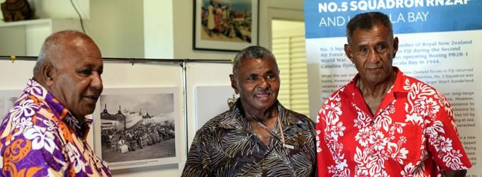 No.5 Squadron Raura Recalls Years In Fiji