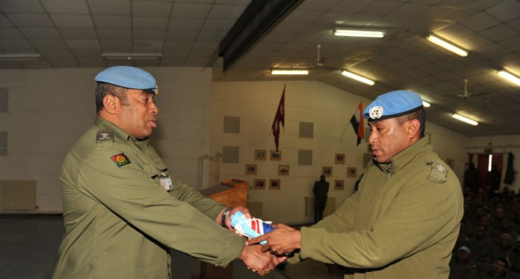 Our Soldiers Now At UN Post 2-45