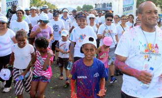 Minister Applauds Colour Explosion Awareness