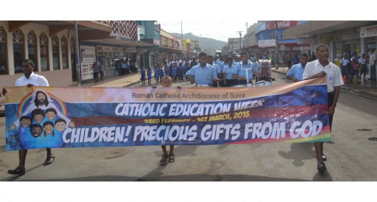 Catholic Schools Celebrate  Education Week