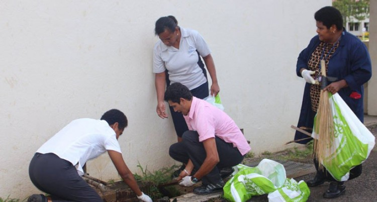 FNU Cleans Up For Dengue