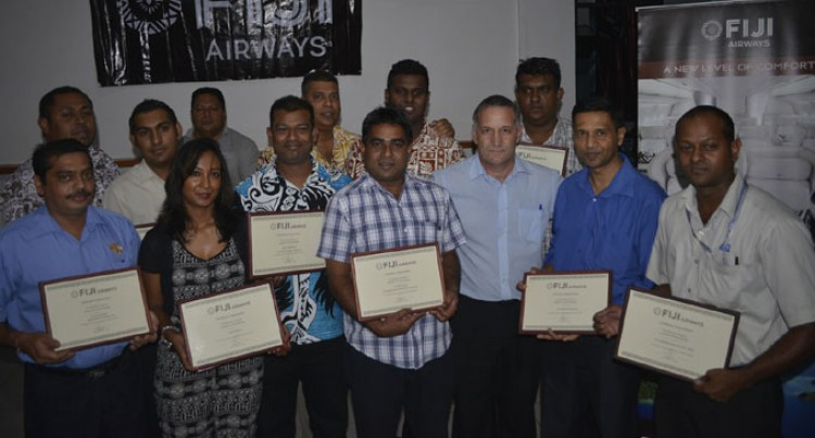 Fiji Airways Rewards Freight Agents