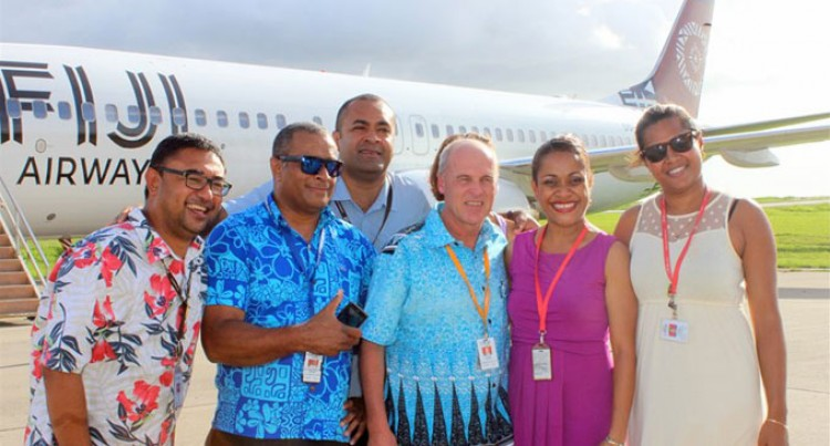 Fiji Airways Staff Farewell Pichler