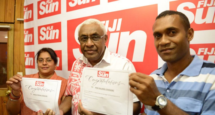 Two Win Fiji Sun Promo
