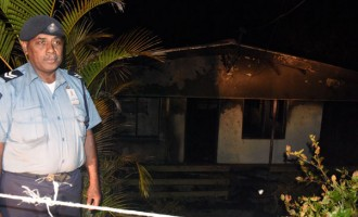 Man Flees Burning House; Cause And Cost Unknown