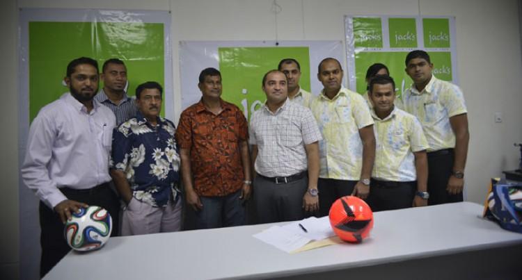 Jack's Seals Nadi Football Deal