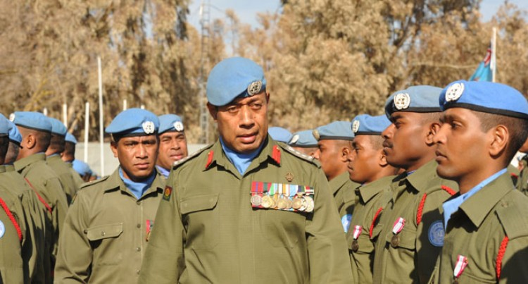 Soldiers Get Medals, Lebanon Farewell