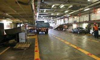 Inter Island Ferry Undergoes Repair Works
