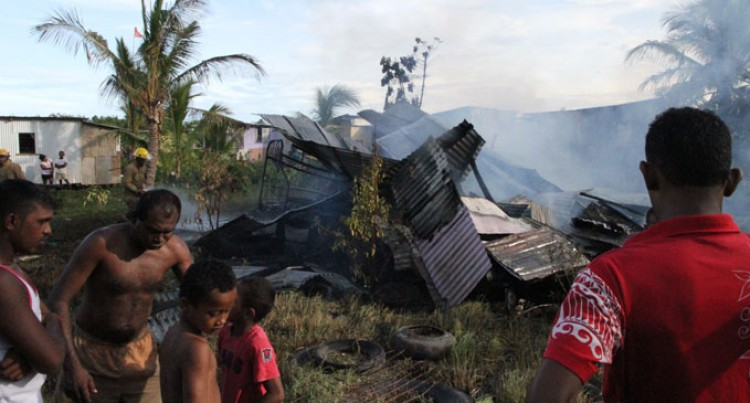 Fire Destroys Nanuku Home