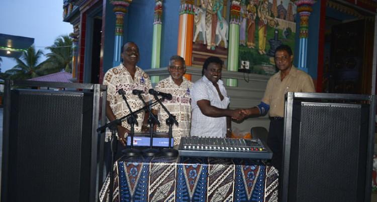 Sound Boost For Nadi Temple