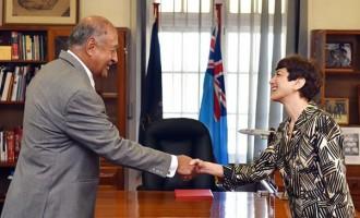 Fijian President Receives Credentials Of New US Ambassador