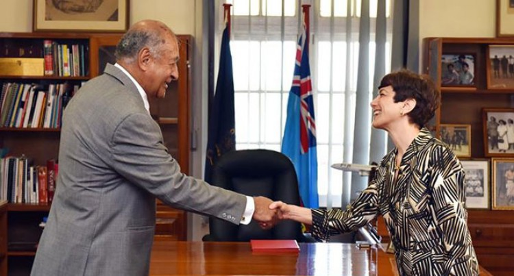 Fijian President Receives Credentials Of New US Ambassador