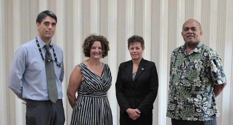 Luveni Leads MPs For Aust Parliament Visit